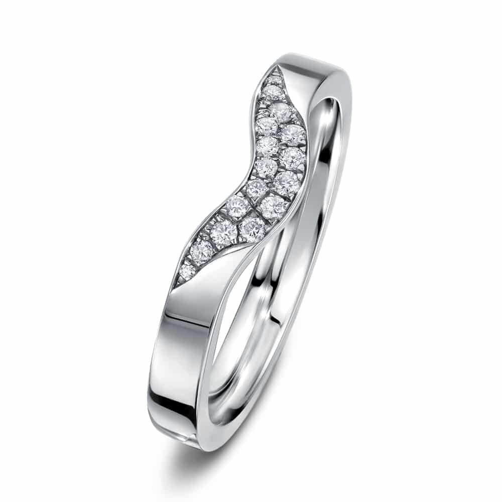 3291855b858821 Fission Cluster diamond wedding ring - Andrew Geoghegan