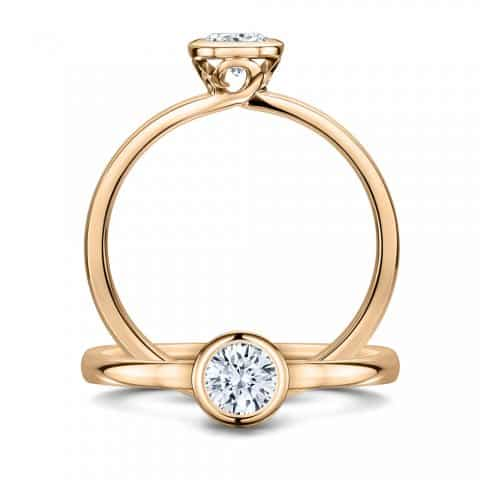 Gabriel Sollitaire 0.33ct diamond platinum_double_RoseGold_1000px